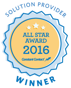 Constant Contact All Star 2016 Badge